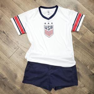 USA Women's Soccer Mia Hamm Soccer Jersey